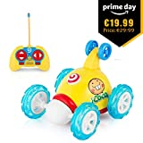Best New Bright Radio Controlled Toys Remote Control Car Stores - Remote Control Car, ICOCO RC Rolling Cartoon Stunt Review