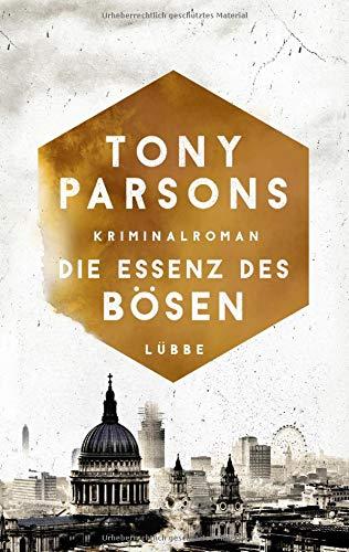 Buchseite und Rezensionen zu 'Die Essenz des Bösen' von Tony Parsons