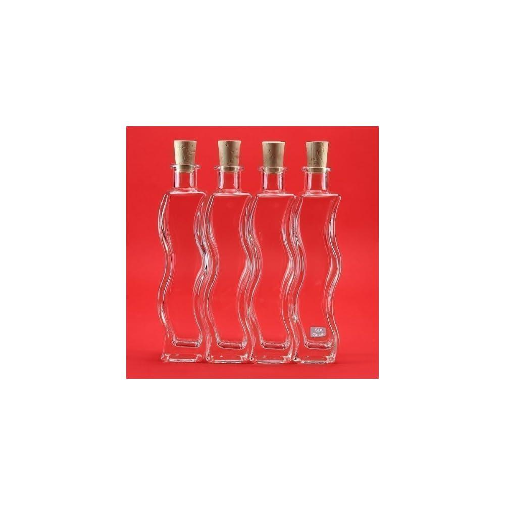 6 X 200ml Flaschen Glasflaschen Onda Likrflaschen Schnapsflaschen Essigflaschen Lflaschenkleine Flasche Zum Selbst Befllen Von Slkfactory