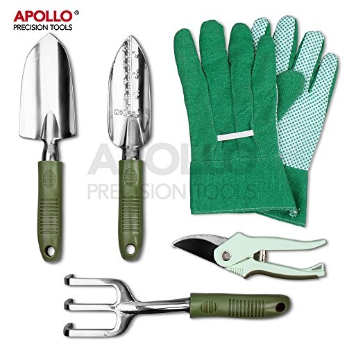 Preisvergleich Produktbild Apollo Precision Tools 5pcs Garden Tool Set