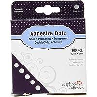 Scrapbook Adhesives 6 mm 300-Piece Adhesive Dots - ukpricecomparsion.eu