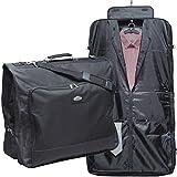 Business Kleidersack Anzugtasche Kleidertasche Businesskleidersack Kleiderhülle Polyester Schwarz XXL 1 A MARKEN-QUALITÄT