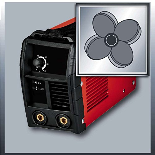 Einhell Inverter Schweißgerät TC-IW 110 (85 V, inkl. Masseklemme, Elektrodenhalter, Ventilatorkühlung, inkl. Tragegurt) - 4