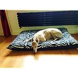 KosiPet® ZEBRA Fleece EXTRA LARGE SPARE COVER For Dog Bed,Dog Beds,Pet Bed,Dogbed,Dogbeds,Petbed,Petbeds,