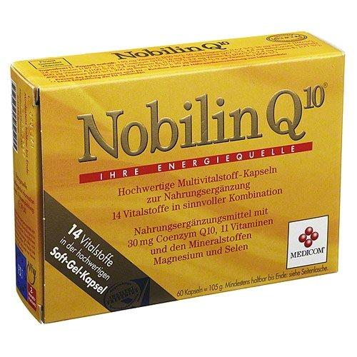 Nobilin Q10 Multivitamin, 60 St