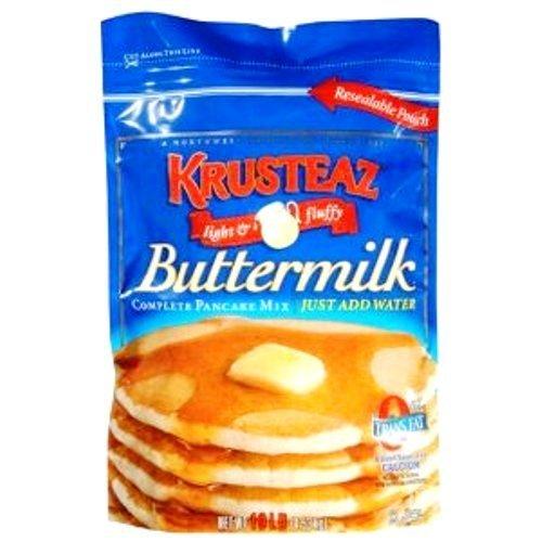 Krusteaz Buttermilk Complete Pancake Mix Just Add Water 4.53kg Reusable Pouch Test