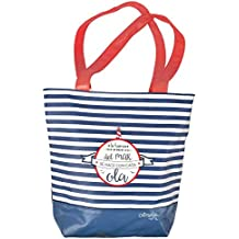 Grupo Erik Editores Bolso Shopping Bag Amelie Marinero