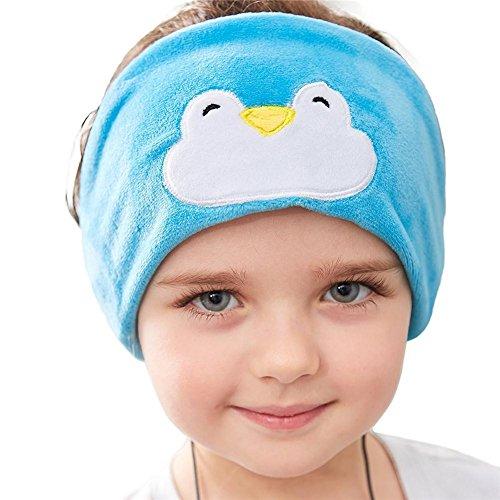 Preisvergleich Produktbild MOOJOO Musik Stirnband Kinder Anhörung schützen Kopfhörer Sleep Cozy Kopfhörer auch als Schlaf-Schutzbrille perfekt für Flugreisen Sport Entspannung verwendet werden