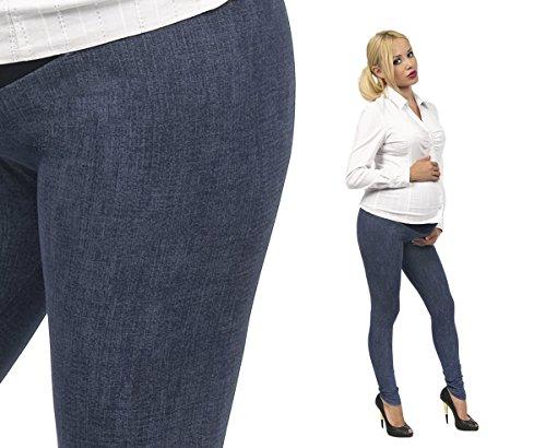 Grossesse Pantalon Pantalon de grossesse Motif Leggings longue coton peigné Modèle-4