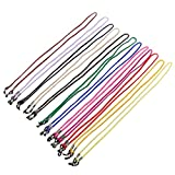 #7: ULTNICE 12pcs Eyeglass Holder Straps Nylon Spectacle Frame Neck Cord for Reading Sports