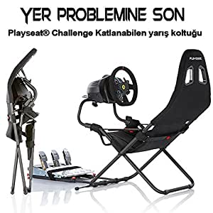 playseat si ge de jeu challenge noir ps4 jeux vid o. Black Bedroom Furniture Sets. Home Design Ideas