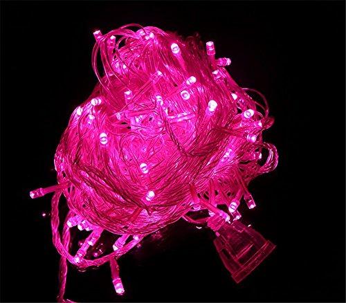 LUCKY CLOVER-A LED Fairy String Lampe, 100 Meter 800 LED Multi Color wasserdicht Indoor Outdoor Christmas Tree Halloween Hochzeit Party Dekoration-8 blinkende Modi, Speicher-Funktion , (Tumblr Dekor Halloween)