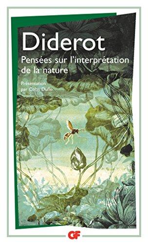 Pensées sur l'interprétation de la nature