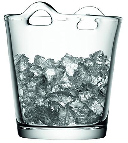 LSA International 19 cm Bar Ice Bucket, Clear