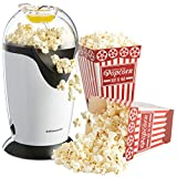 Andrew James Hot Air Popcorn Maker With 4 Popcorn Boxes