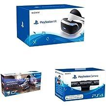Sony PlayStation VR (PS4) + Pack: Farpoint + Aim Controller + Sony - Cámara (PS4)