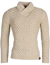 Tazzio pull en tricot pour homme cardigan pull veste homme