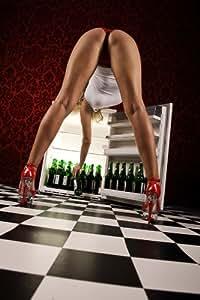 """Bier / Beer Poster erotisches Remake """"Warum das Bier im"""