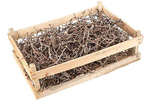 NaDeco Bonsai Äste natur mit Holzkiste | Dekoäste | Dekozweige | Deko Äste | Deko Holz | Deko Hölzer | kleine knorrige Zweige