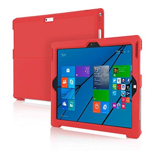 Tg-kick (Incipio Feather Advance dünne Schutzhülle mit Kickstand Kompatibilität für Microsoft Surface Pro 3 rot)