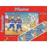 KINDERPFLASTER Feuerwehr Briefchen 10 St Pflaster