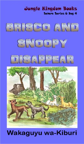 brisco-and-snoopy-disappear-sahara-series-6-dog-4-english-edition