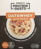 BioTech Oat & Whey Suplemento de Proteínas, Sabor Plátano y Manzana - 696 gr