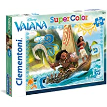 Clementoni 27965 - SuperColor Puzzle Moana, 104 Pezzi