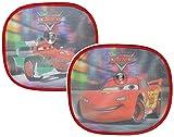 Unbekannt 2 tlg. Set Sonnenschutz Disney Cars Lightning McQueen 35 cm * 31 cm - für Seitenscheibe / Sonnenblende für Kinder Auto Mc Queen Autos Sichtschutz Jungen Baby Seitenfenster