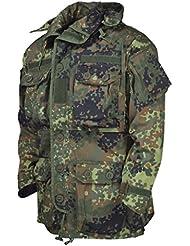 TacGear KSK Smock Protección contra la humedad camuflaje, camuflaje