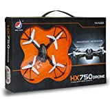 DawnRays Presents HX750 Drone 2.6 Ghz 6 Channel Remote Control Drone, 6 Axis Gyro Drone With Stable Flight , Headless Mode, One Key Return, RC Drone Quadcopter, Strong Build Quality, Light Weight Drone Without Camera, High Quality Drone For 14+ Age|| Remo