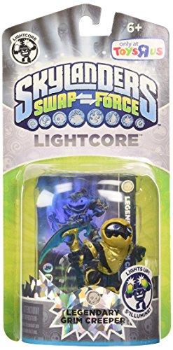 Preisvergleich Produktbild Skylanders SWAP FORCE Exclusive Legendary Character Pack Lightcore Grim Creeper