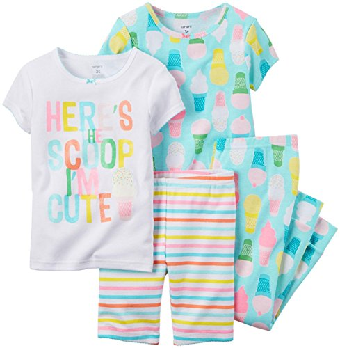 Carter's Baby Girls' 4 Pc Cotton 331g133 -