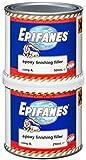 EPIFANES Epoxy Finishing Filler, widerstandsfähiger End-Spachtel auf Epoxidharzbasis, Hell-Grau, 750ml