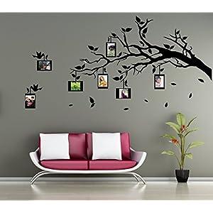 Wandtattoo-Wandaufkleber *** Ast mit Fotorahmen*** Farbe und Ausrichtung frei wählbar!