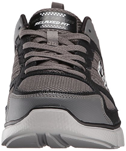 SKECHERS EQUALIZER 2 ON TRACK CCBK Charcoal Black