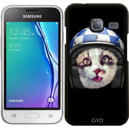 Custodia per Samsung Galaxy J1 Mini (SM-J105) - Biker Gatto by wamdesign