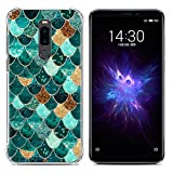 95Street Soft Silicone Case for Meizu Note 8 Crystal Clear