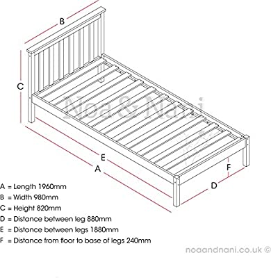 Single Bed Winchester Classic Bed Frame