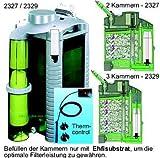 Eheim Filtro Esterno Professionale con riscaldamento a intervalli 2329d' acqua dolce, 3camere