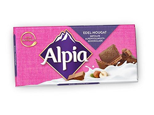 Alpia Schokolade Edel Nougat, 100 g