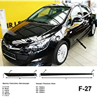 Spangenberg 370002703 - Listones de protección Lateral para Opel Astra J (Modelos de 2010 a