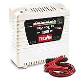 Telwin Elements TOURING 18 Autobatterie Ladegerät für 12V/24V Batterien, Ladestrom bis zu 13 A, Kapazität bis zu 180 Ah