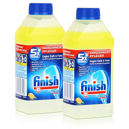 Calgonit Finish Spül-Maschinen-Pfleger Citrus 5xPower 250ml (2er Pack)