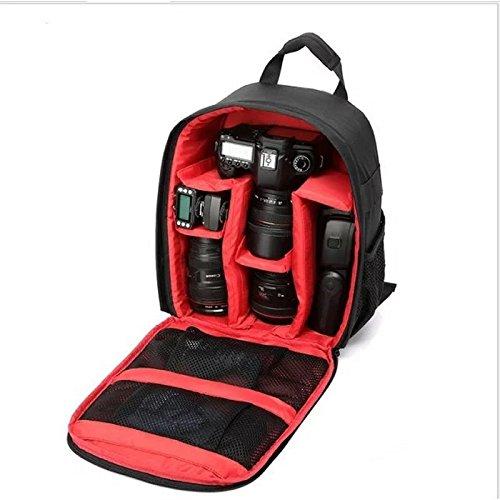 TOYIS Kameratasche Kamera-Rucksack DSLR Rucksack Kameratasche für Canon, Nikon, Sony, Olympus, Samsung, Panasonic, Pentax Kamera DSLR Zubehör und Laptops Tablets wasserdicht