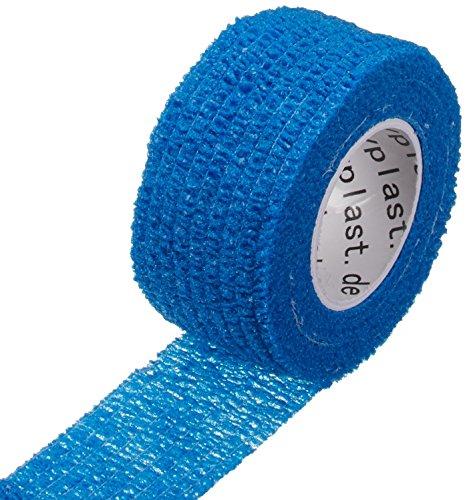 Happyplast 2,5 cm, colore: blu, Kit di