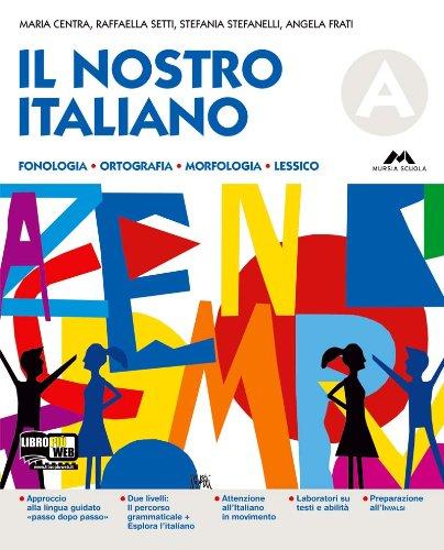 Il nostro italiano. VOlume A. Schedario. Per la Scuola media. Con CD-ROM. Con espansione online