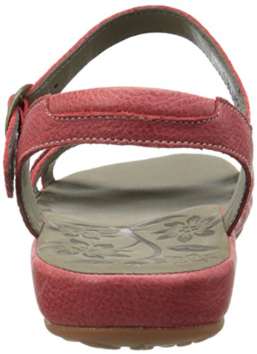 Keen cITY oF paLMS sANDAL w-rIBBON rED - -