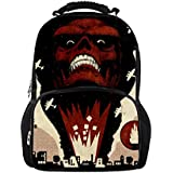 School Bag For Men Women Anime Skull Backpack Travel Satchel Teens Boys Book Bag G