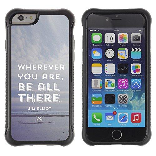 Graphic4You Answer Promptly With A Smile Englisch Zitat Nachricht Shockproof Anti-Rutsch Weichen Hülle Case Tasche Schutzhülle für Apple iPhone 6 Plus / 6S Plus Design #9